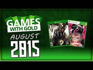 (FAKE LEAK) Games with Gold August 2015! (Free Xbox Games)