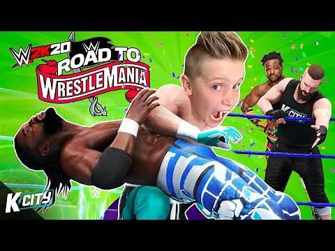 The New Day Challenge! Road to WrestleMania Tower Level 2   K-CITY GAMING