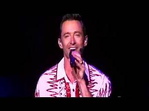 Hugh Jackman, Singing a medley of hit songs, 06/09/2019 Auickland New Zealand