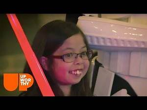 Being Darth Vader Helped Distract Her From Being In The Hospital
