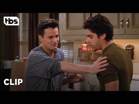 Friends: Chandler's Crazy New Roommate's Ex Girlfriend (Season 2 Clip) | TBS