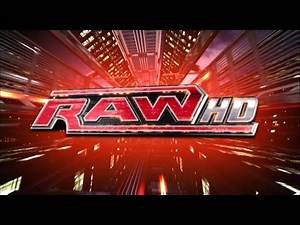 """WWE Monday Night Raw November 2009 TV Show Intro Video feat. """"Burn It to the Ground"""" Theme [HD]"""