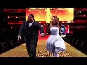 WWE 2K20 Otis & Mandy Rose Vs Sonya Deville & Dolph Ziggler at Money in the Bank