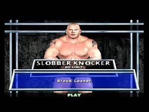 SLOBBER KNOCKER - NO TIME LIMIT | PERFECT SCORE | Brock Lesnar | WWE SmackDown! Here Comes The Pain