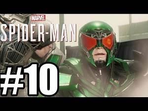 Marvel's Spider-Man Gameplay Walkthrough Part 9 - Rhino & Scorpion Boss Fight