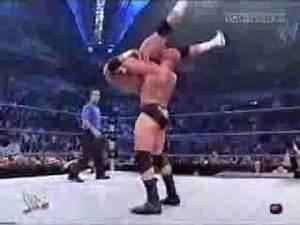 Brock Lesnar Breaks Hardcore Holly's Neck