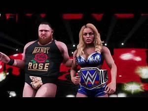 WWE 2K20 Mandy Rose & Otis With Miz & Maryse Entrance