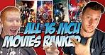 All 16 MCU Movies Ranked & Reviewed Chronologically & Worst to Best (with Spiderman: Homecoming)