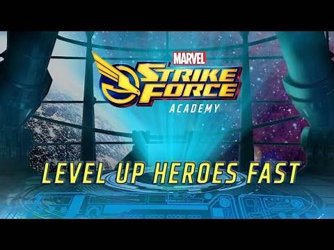 How To Level Up Heroes Fast for Beginners - Marvel STRIKE Force