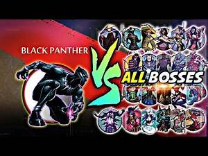 Shadow Fight 2 Black Panther Vs All Bosses