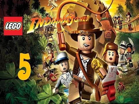 Let's Play! Lego Indiana Jones: The Original Adventures- Part 5: Pursuing the Ark