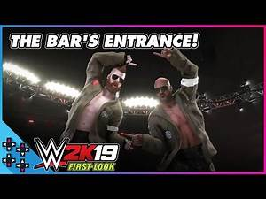 WWE 2K19: THE BAR set the standard for arena entrances!