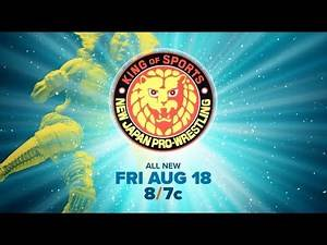 The G1 Climax 27 From NJPW Begins | August 18th on AXS TV