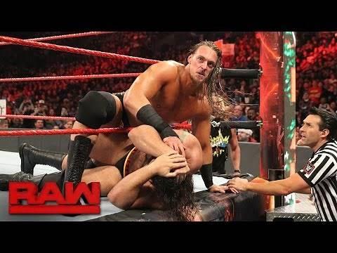 Big Cass vs. Rusev: Raw, Dec. 19, 2016