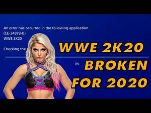 WWE 2K20 Literally Doesn't Work In The Year 2020
