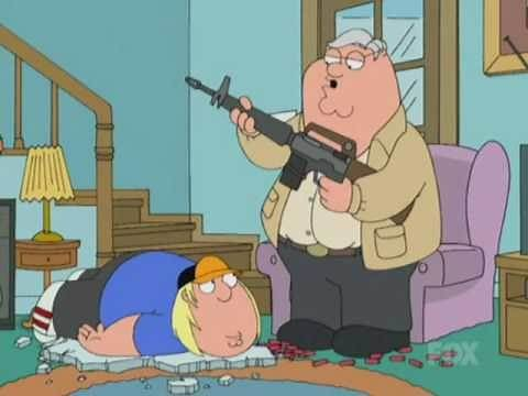 Family Guy - Hi Dad! - Go to your room