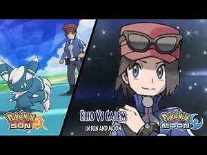 Pokemon Sun and Moon: Trainer Sun Vs Calem (Pokemon Multiverse)