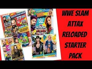 Starter Pack Opening, 100 club pull | WWE Slam Attax Reloaded 2020