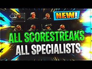 ALL BO4 SCORESTREAKS & SPECIALISTS WHATS THE BEST TO USE? / BLACK OPS 4