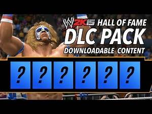 WWE 2K15 Hall of Fame Downloadable Content Pack (DLC Concept)