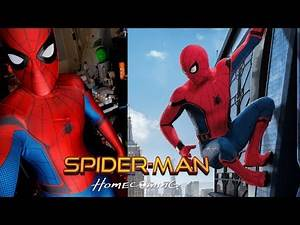 Spider-Man HOMECOMING Cosplay Transformation   Tom Holland Suit
