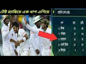 icc test ranking list with point updates 2018 may