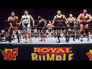 WWE Royal Rumble 1998 PPV REVIEW
