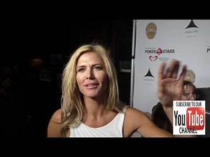 Torrie Wilson talks about all womens wrestling league at the Los Angeles Police Memorial Foundation
