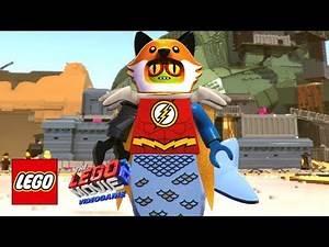 The LEGO Movie 2 Videogame - All Minifigure Customiser Parts Unlocked!