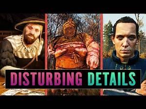 5 DISTURBING Details You Missed In The Witcher 3: Wild Hunt