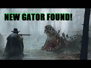 New Legendary Alligator FOUND and Unlocking the Teca Coat in Red Dead Redemption 2!