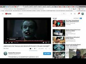 """NEW HUGE Mandela Effect - Joker's """"__ ever danced with the devil __ the pale moonlight?""""has changed!"""