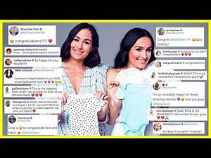 WWE Superstars React To The Bella Twins Pregnancy   The Bella Twins Are Both Pregnant