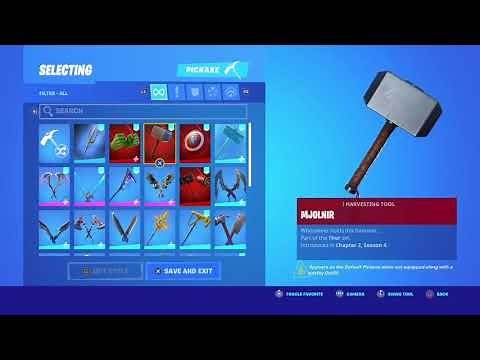 Which skins are worthy of Mjolnir?? (Thor's hammer)