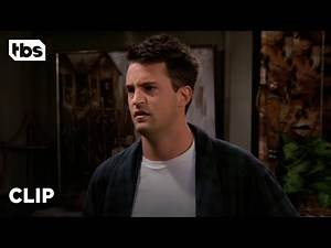 Friends: Chandler Thinks He'll End Up Alone (Season 2 Clip) | TBS