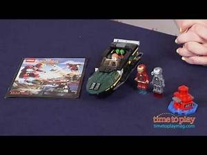 LEGO Marvel Superheroes Iron Man: Extremis Sea Port Battle from LEGO