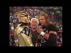Goldust HHH Ric Flair Funniest Raw Moment 3/17/2003