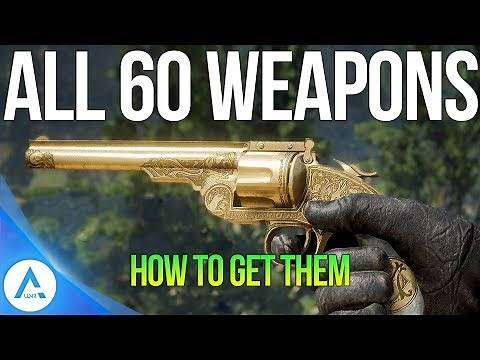 All 60 Unique Secret Weapons and How to Get Them - Red Dead Redemption 2