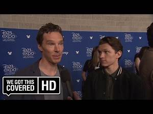 INTERVIEW: Benedict Cumberbatch and Tom Holland Talk AVENGERS: INFINITY WAR At D23 [HD]