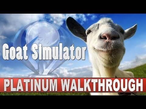 Goat Simulator Platinum Walkthrough   Trophy & Achievement Guide