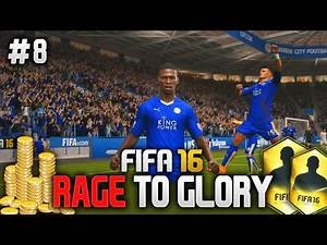 FIFA 16: RAGE TO GLORY #8 - A NEW STRIKER?! (Ultimate Team)