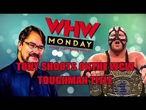 Tony SHOOTS on the WCW Toughman Title