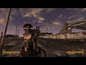 Legates Armour Mod in Fallout New Vegas