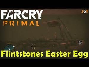 Far Cry Primal Flintstones Easter Egg
