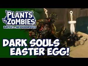 Dark Souls Easter Egg on Peachy District! | Plants vs. Zombies: Battle for Neighborville