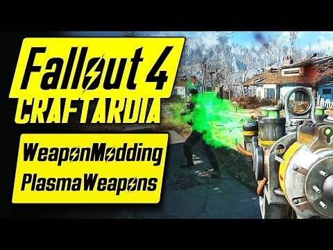 Fallout 4 Weapon Customization - Plasma Weapons Modding - Fallout 4 Plasma Weapons Mods [CRAFTARDIA]