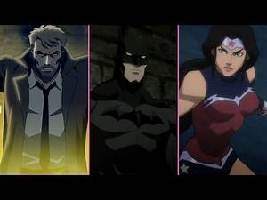 Top 10 DC Animated Movie Universe Characters
