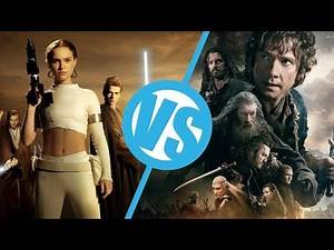 The Hobbit Trilogy VS The Star Wars Prequels : Movie Feuds ep123