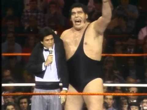 Andre the Giant's Legends of WrestleMania Entrance Video