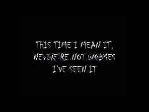 My Chemical Romance-Honey, This Mirror Isn't Big Enough For The Two Of Us Lyrics